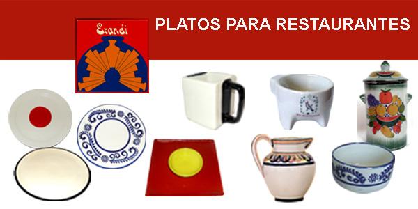PLATOS PARA RESTAURANTES