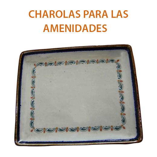 CHAROLAS PARA LAS AMENIDADES