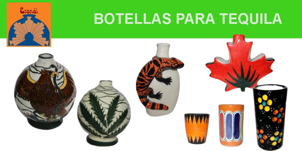 BOTELLAS PARA TEQUILA